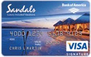Sandals Visa Signature